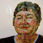 1. Dana Schoppa, acrylic and oil pastel on paper, 26 x27 inches, 2007