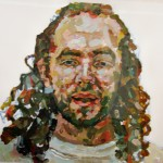 8. John Forse, acrylic and oil pastel on paper, 26x28 inches, 2007