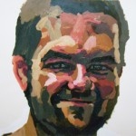 11. Bryan Gardner, acrylic and oil pastel on paper, 26x40 inches, 2006